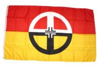 Fahne / Flagge Indianer - Healing 90 x 150 cm
