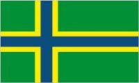 Fahne / Flagge Plattdeutsch Nordlandflag 90 x 150 cm