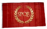 Fahne / Flagge Römisches Reich SPQR 90 x 150 cm