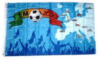 Fahne / Flagge EM 2018 Europa 90 x 150 cm