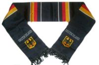 Fan Schal Deutschland schwarz