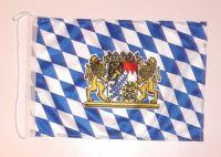 Bootsflagge Freistaat Bayern Löwen 30 x 45 cm