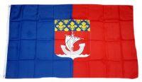 Fahne / Flagge Frankreich - Paris 90 x 150 cm
