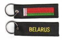 Fahnen Schlüsselanhänger Weißrussland