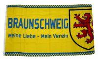 Fahne / Flagge Braunschweig Fan Mein Verein 90 x 150 cm