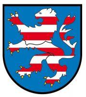 Wappenschild Aufkleber Sticker Hessen