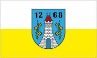 Fahne / Flagge Rothenburg Oberlausitz 90 x 150 cm