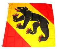 Flagge / Fahne Schweiz - Bern 120 x 120 cm