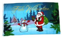 Fahne / Flagge Weihnachten Weihnachsfahne 90 x 150 cm