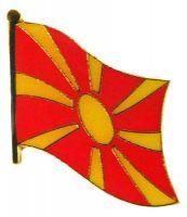 Flaggen Pin Mazedonien NEU Fahne Flagge Anstecknadel