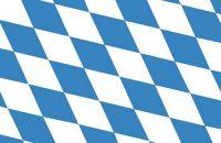 Fahnen Aufkleber Sticker Freistaat Bayern Raute