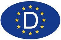 Wappen Aufkleber Sticker Europa D Zeichen