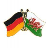 Fahnen Freundschaftspin Anstecker Wales