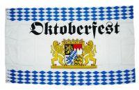 Fahne / Flagge Bayern Oktoberfest Rauten 90 x 150 cm
