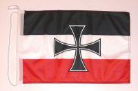 Bootsflagge Gösch Eisernes Kreuz 30 x 45 cm