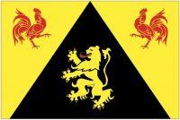 Fahnen Aufkleber Sticker Belgien - Wallonisch Brabant