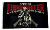 Fahne / Flagge Feuerwehr Firefighter 90 x 150 cm