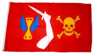 Fahne / Flagge Pirat Christopher Moody 90 x 150 cm
