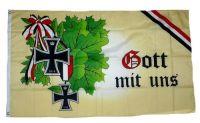 Fahne / Flagge Gott mit uns Eisernes Kreuz 1914 90 x 150 cm