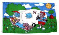Fahne / Flagge Camper Wohnmobil 90 x 150 cm