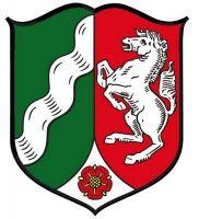 Wappenschild Aufkleber Sticker Nordrhein Westfalen