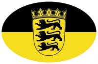 Wappen Aufkleber Sticker Baden Württemberg