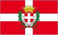 Fahne / Flagge Italien - Asti 90 x 150 cm