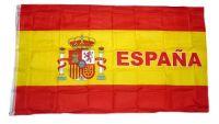 Fahne / Flagge Spanien Schrift NEU 90 x 150 cm