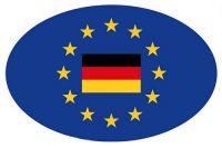 Wappen Aufkleber Sticker Europa Deutschland