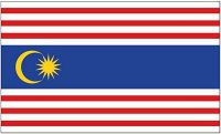Flagge / Fahne Malaysia - Kuala Lumpur Hissflagge 90 x 150 cm