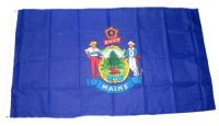 Fahne / Flagge USA - Maine 90 x 150 cm