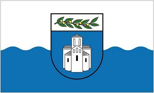 Fahne / Flagge Kroatien - Zadar 90 x 150 cm