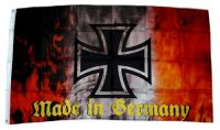 Fahne / Flagge Eisernes Kreuz Made in Germany 90 x 150 cm