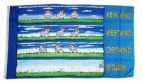 Fahne / Flagge Wind Schafe 90 x 150 cm