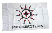 Fahne / Flagge Indianer - United Sioux 90 x 150 cm