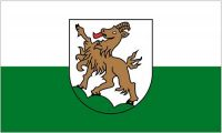 Fahne / Flagge Österreich - Kitzbühel 90 x 150 cm