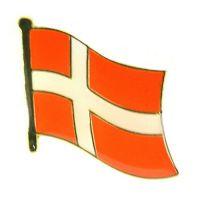 Flaggen Pin Fahne Dänemark Pins NEU Anstecknadel Flagge