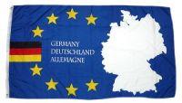 Fahne / Flagge Europa Deutschland Schrift 90 x 150 cm