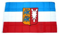 Flagge / Fahne Schleswig Holstein Wappen Hissflagge 90 x 150 cm