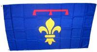 Fahne / Flagge Frankreich - Provence 90 x 150 cm