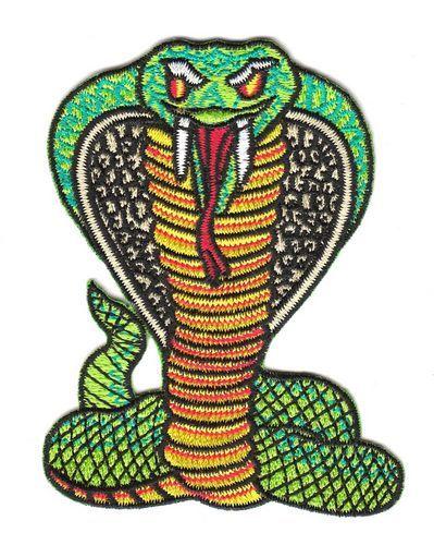 Aufnäher Patch Schlange Kobra 1