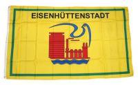Flagge / Fahne Eisenhüttenstadt Hissflagge 90 x 150 cm