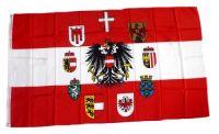 Fahne / Flagge Österreich Bundesländer 90 x 150 cm