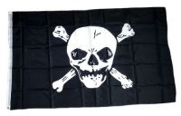 Fahne / Flagge Pirat Skull 90 x 150 cm