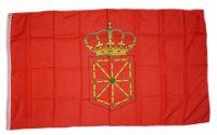 Fahne / Flagge Spanien - Navarra 90 x 150 cm