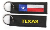 Fahnen Schlüsselanhänger USA - Texas