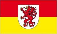Fahne / Flagge Österreich - Leonding 90 x 150 cm