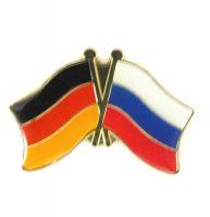 Fahnen Freundschaftspin Anstecker Russland