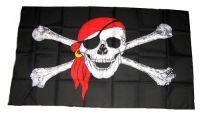 Fahne / Flagge Pirat Kopftuch 150 x 250 cm