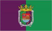 Fahne / Flagge Spanien - Malaga 90 x 150 cm